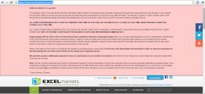 Excel markets