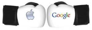 Google frente a Apple