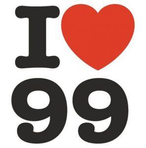 I love 99