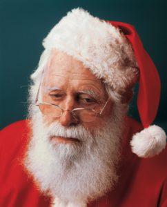 Santa CLaus triste