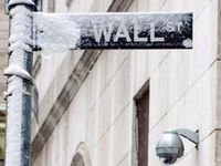 Wall Street Winter Storm