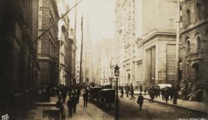 Wall street 1887