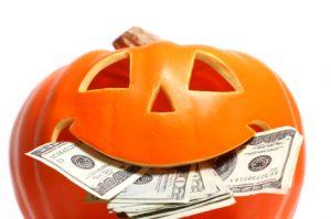 halloween dinero