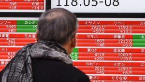 japan stock down