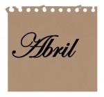 mes de abril